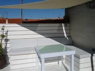 Maison 100m2 avec terrasse a 150m de la plage