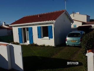 Ile de Noirmoutier Maison mer independante 4 pers avec velos