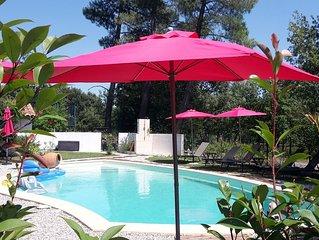 Cottage avec piscine