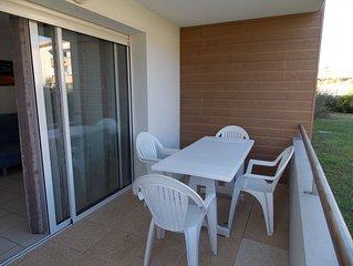 Appartement 4 couchages a 2 pas de la plage des Oceanides a Capbreton C475