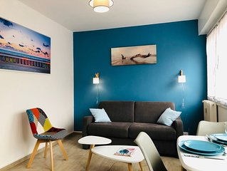 Studio L'Amiral au Touquet, emplacement ideal plage et centre-ville