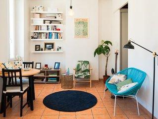 Joli appartement style typique Marseillais, à deux pas de la Bonne Mère !