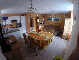 App 42 m2 special curiste, vacanciers spacieux et proche des thermes et centre