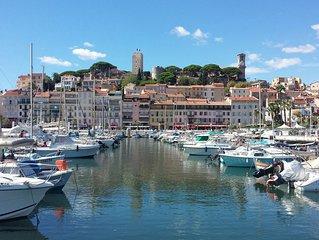 Exceptionnel  Appart de charme 3 * au ♥  de Cannes Vieux Port  au pied du Suquet