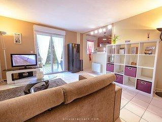 Doux séjour à Albi           appartement coquet , calme et chaleureux