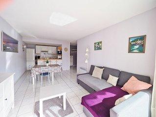 Jolie T2, tt confort Saint-Jean-de-Luz, parking, terrasse, wifi au calme