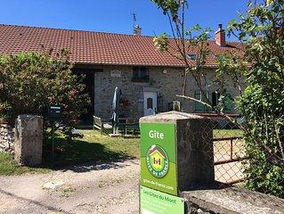 Gite en Bourgogne de 7 personnes, a Marigny l'Eglise dans la Nievre