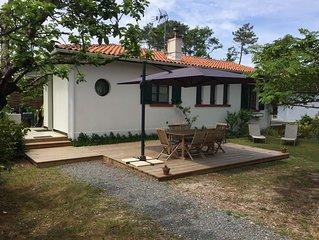 Villa spacieuse  entre Bassin -Océan  et piste cyclable