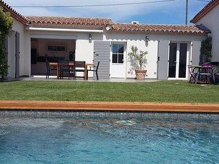 Maison avec Jardin et piscine située à 10 minutes d'Aix en Provence
