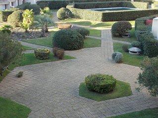 Appartement 5 couchages sur le Port de Plaisance de Capbreton Piscine et jardin