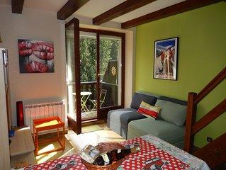 Centre Alsace en moyenne montagne LE HOHWALD appartement 4 personnes