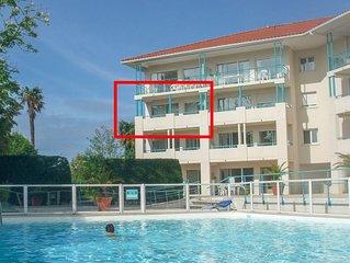 Appartement 6 personnes renove, avec piscine et 2 terrasses
