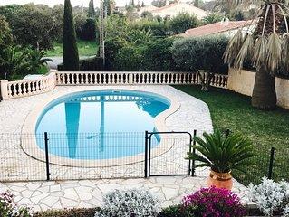 Rez de villa avec piscine Type T2