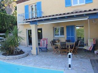 Villa avec Piscine a 5 km de la plage et 5 minutes du golf