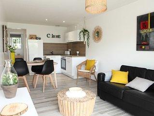 Les Issambres - Appartement 2 chambres, au calme, climatise, a 300m de la plage