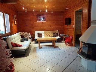 Chalet 6 personnes spacieux au ceour des Vosges