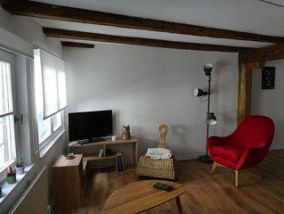 Appartement charmant et calme à 5 minutes  du centre-ville