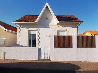 Agréable maison de vacances située dans le centre-ville de Lacanau-Océan