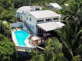 NOLITHA 2 :Villa face à l océan sur MANAPANY LES BAINS