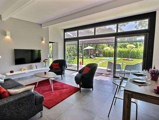 Maison au calme, intimiste, piscine et jardin entre Aix-en-Provence et Marseille