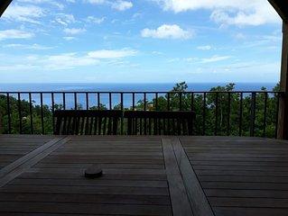 Bas de villa avec vue sur mer à 180°!!