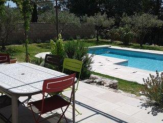 Maison plain-pied de 110m² avec terrain-piscine