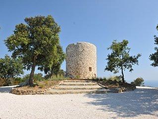 Site exceptionnel surplombant  Saint Tropez garanti antivirus isolé