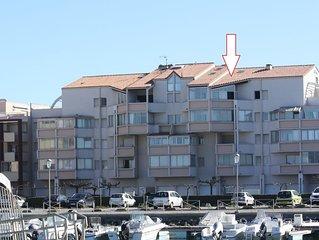 Charmant duplex de 45m2 avec vue sur marina