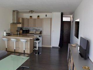 a ARCACHON dans le quartier de l'aiguillon appartement tout confort de 40 m2