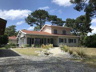 Villa Grand confort 200M2  12 pers Biscarrosse Plage AVEC PISCINE