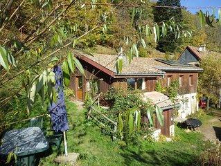 Gite de la Chevrerie de  Bambois : nature solitude calme convivialite