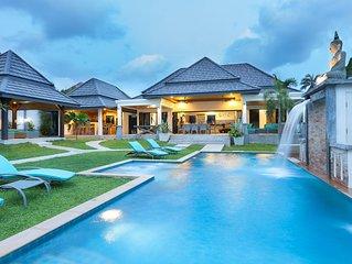 Rawai Superbe villa 5 chambres 5 sdb piscine