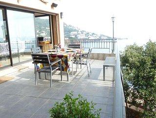 Villa,acces mer ,crique privee a theoule sur mer confort et vue exceptionnelle
