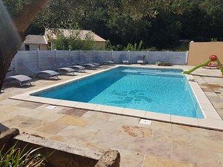 Gite les oliviers avec piscine au coeur de la vallée de la ceze entièrement neuf