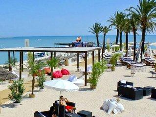 TOP EMPLACEMENT Plages, Restos, Bars, Shopping à 50M de l'appart(2ch/terrasse)