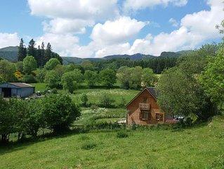 Agréable chalet indépendant au cœur du massif du Sancy - Auvergne