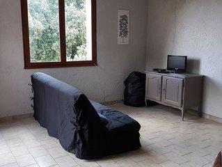 VILLA de 75 m² sur 1500 m² de terrain boisé, sans vis-à-vis