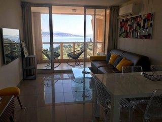 Très bel appartement vue mer au pied de l'Esterel