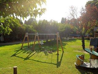 Habitation dans parc arboré au calme