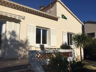 Agréable T1 (classé 3 étoiles) dans Villa, calme (impasse), jardin et parking