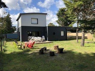 ILE TUDY - Maison contemporaine 6 places avec jardin à 100m de la plage
