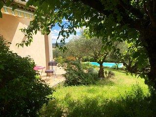 magnifique Villa avec piscine privée,vue splendide,jardin fermé,