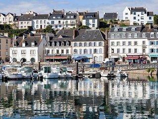 Propriété mer avec vue exceptionnelle sur le port d'Audierne