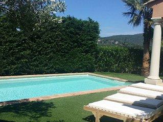 villa avec piscine,jardin, 6 personnes, climatisee, PROMOTION MAI ET JUIN