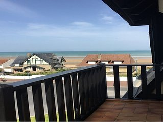 Appartement vue mer. Proche Deauville, Houlgate, Cabourg  4 Pers