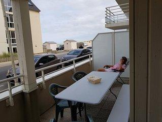 T2 cabine RDC avec vue mer + parking