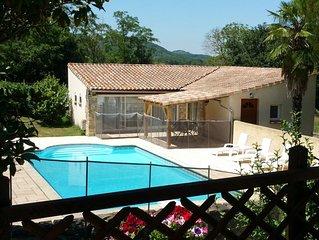 Quatre cottages indépendants dans un ancienne ferme, avec piscine – 'Loire'