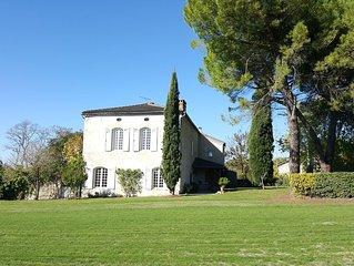 Gite de charme ' Meslier Saint Francois' avec piscine chauffee (mai a octobre)