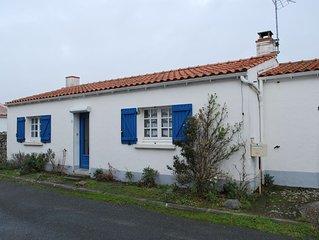 NOIRMOUTIER EN L'ILE ( Centre) maison typique 3 ch. 82 m2