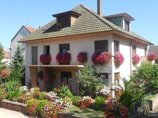 Appartement tout confort dans maison centre Alsace